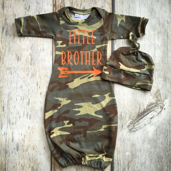 16a422053 Camouflage boy gown