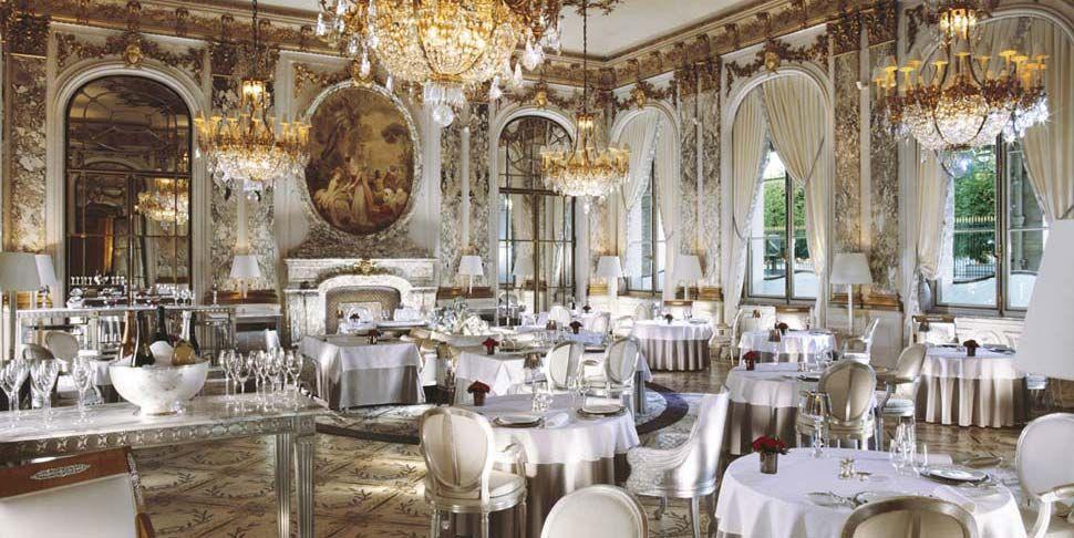 Paris Restaurants Five Star Bars City Centre