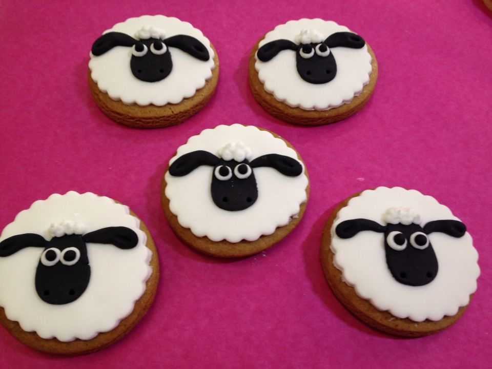Sean the sheep!! Cookies