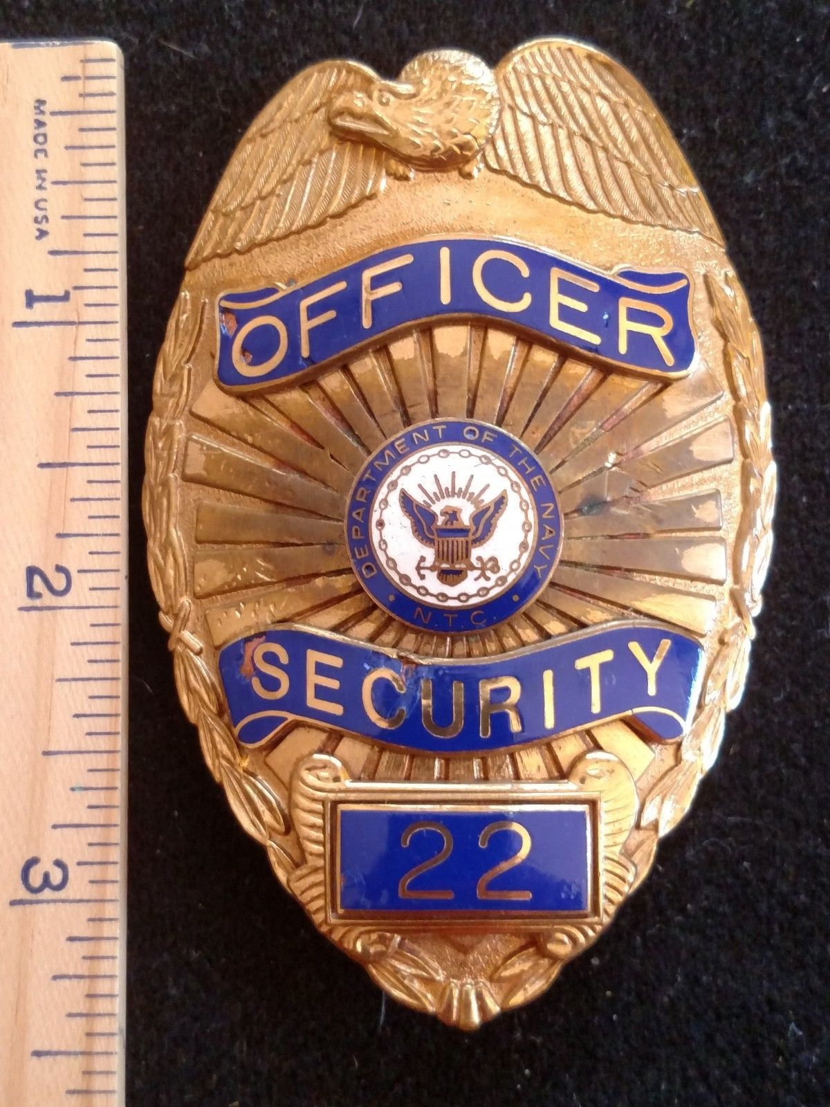 Security Officer Department Of The Navy Hm Nielsen Mfg Federal