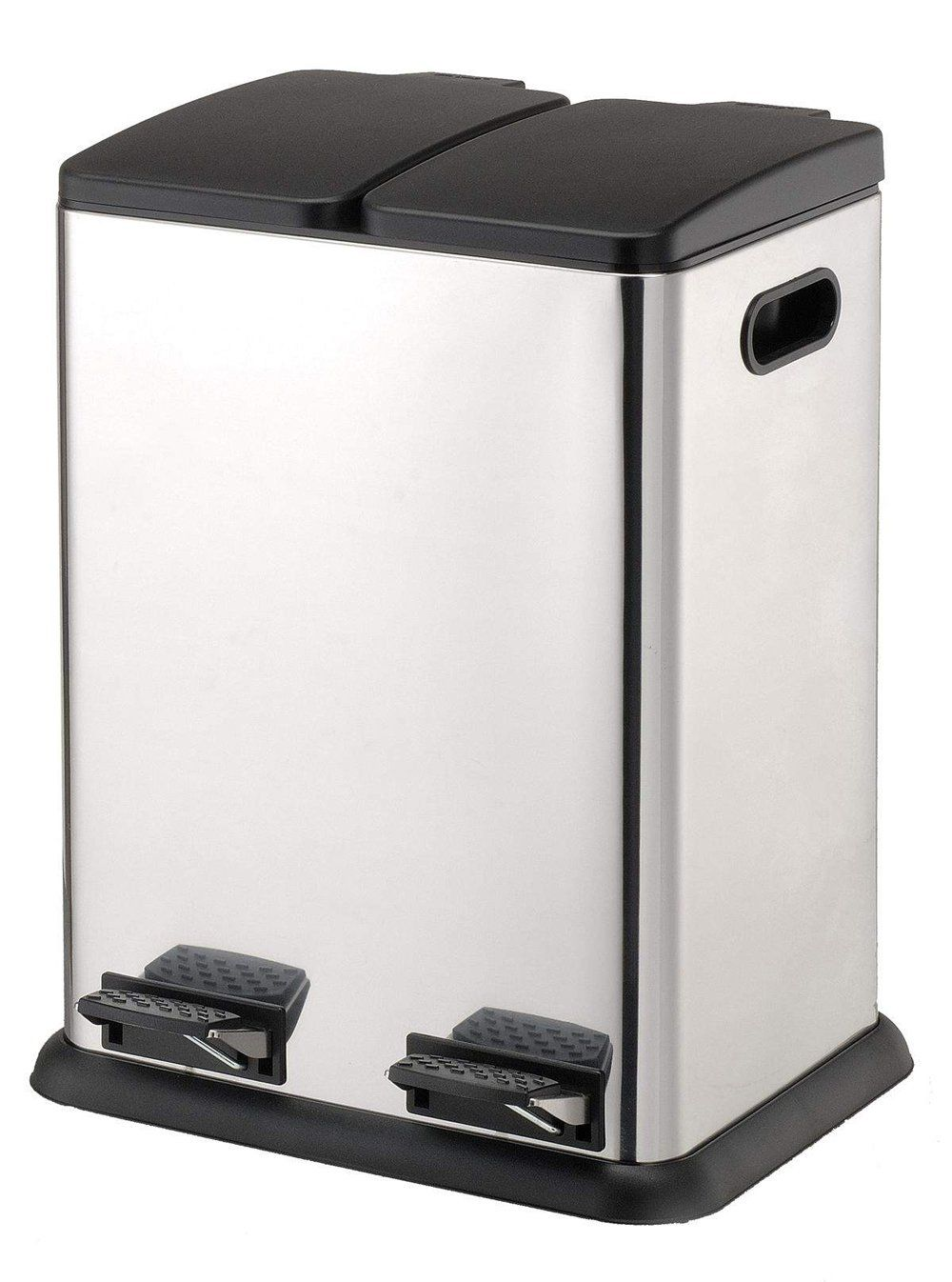 Organize It All Square Step on Recycling Bin (4942W) | Trash ...