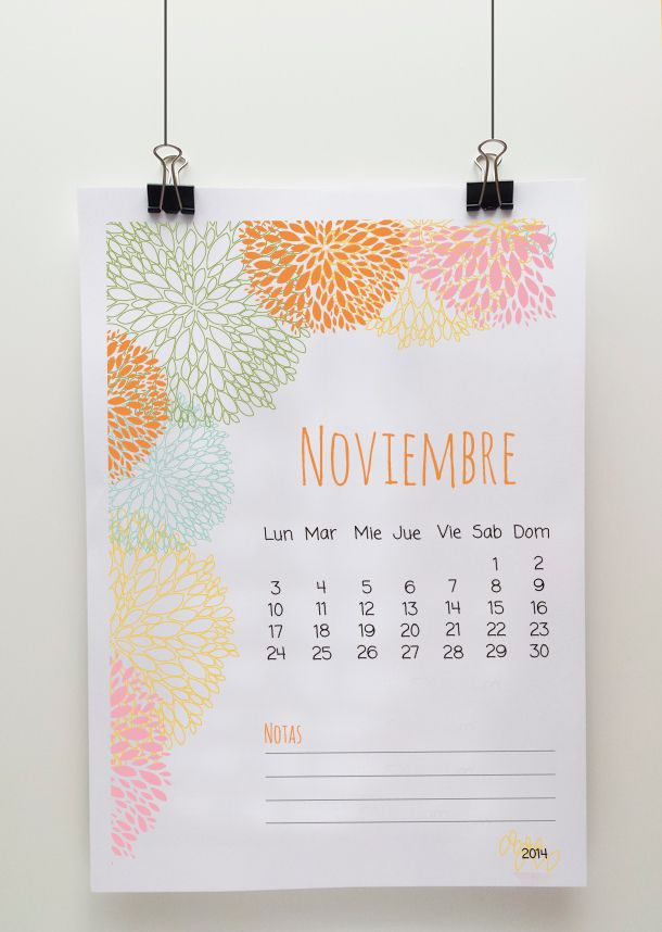 Make it yourself calendario noviembre freebies make it yourself calendario noviembre solutioingenieria Images
