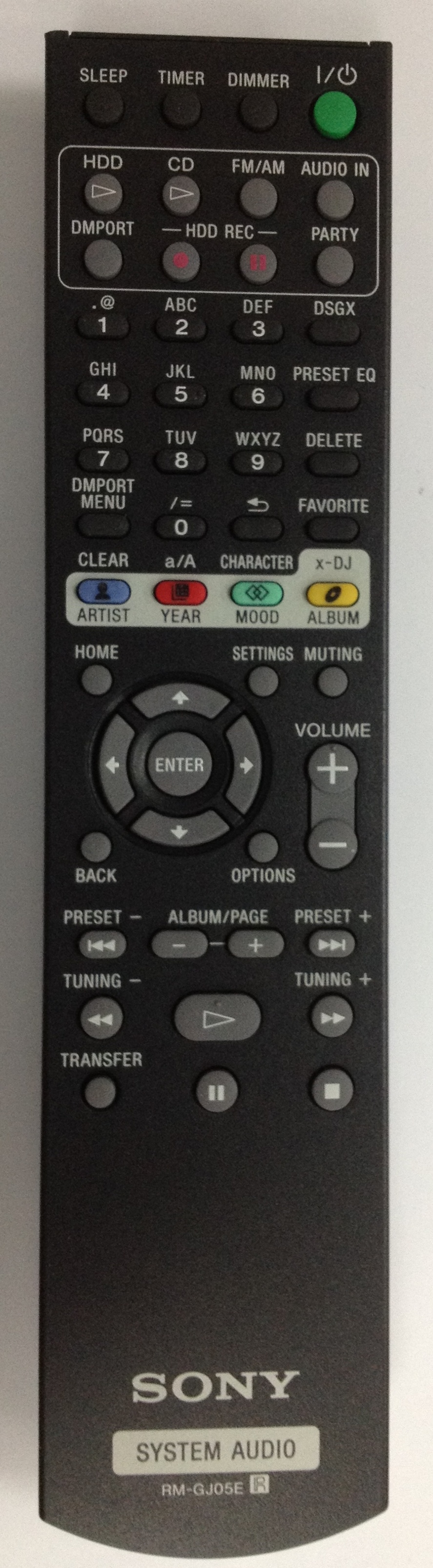RM-GJ05E SONY Original remote control . We Offer original ...