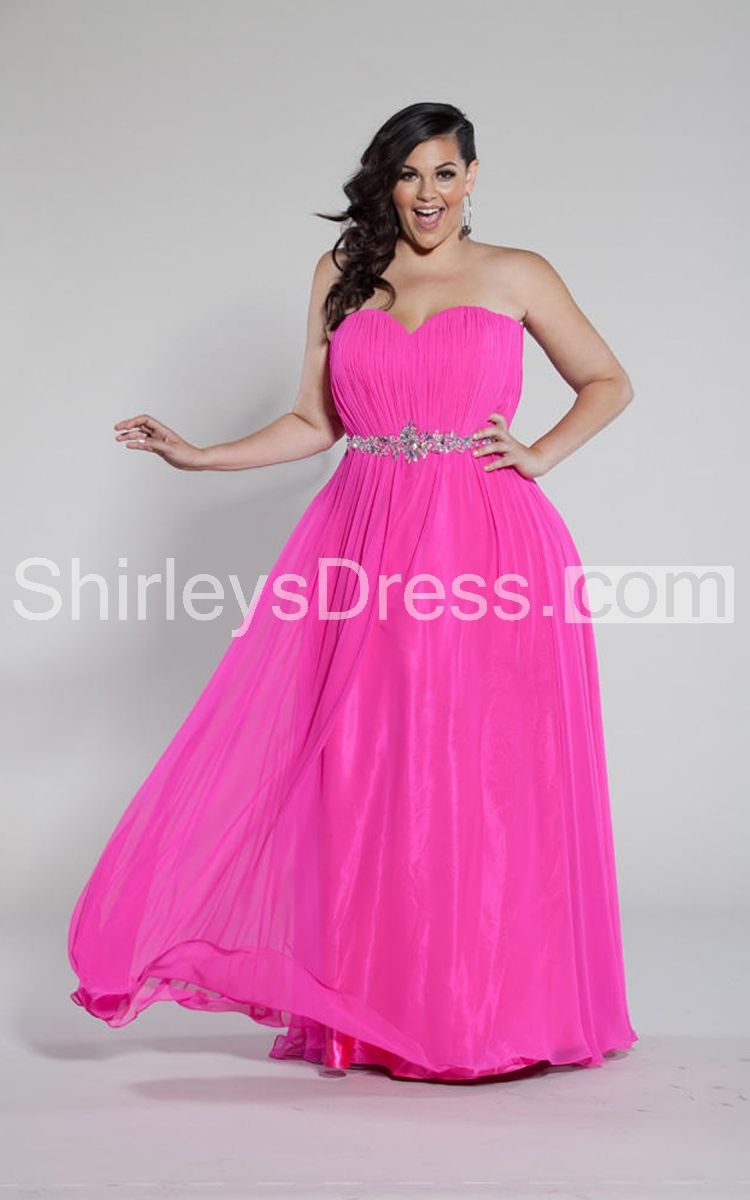 12 Plus Size Prom Dresses You\'ll Love! | Plus Size Prom | Pinterest ...
