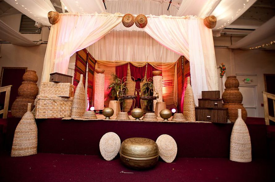 Nigerian Wedding Traditional Engagement Wedding Stage