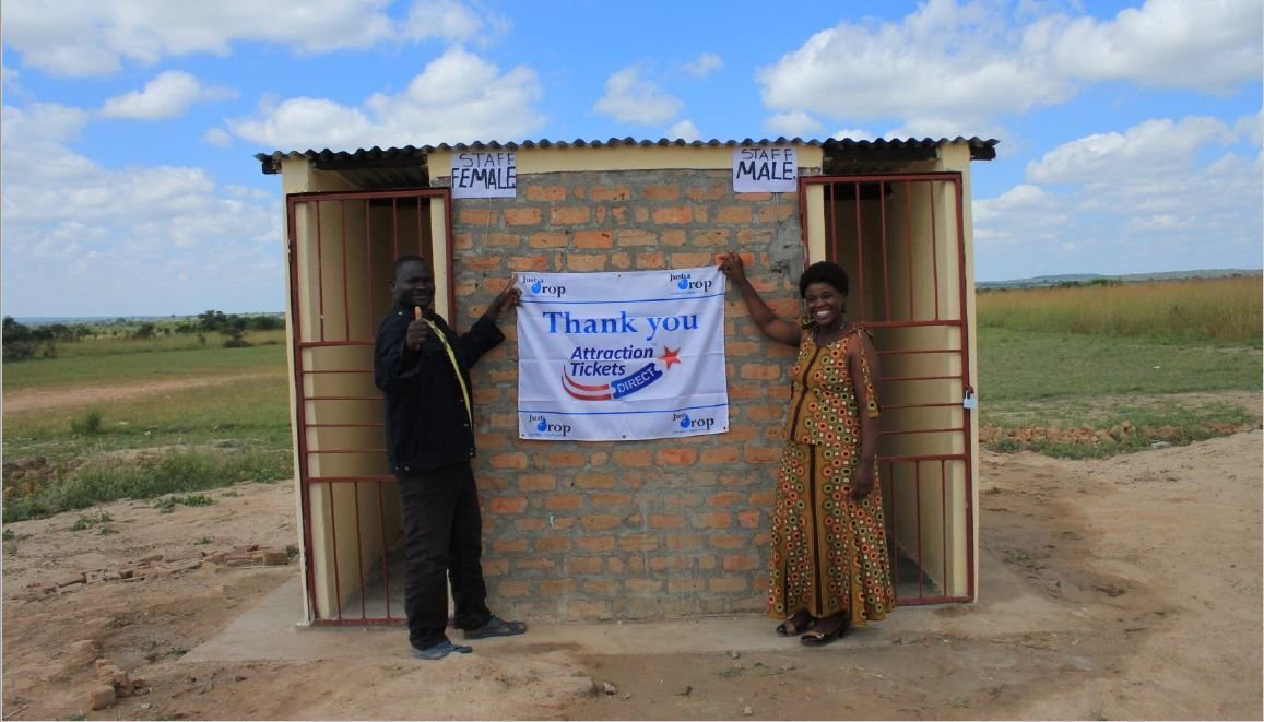 Agradecimento da Escola Kalundu em Zambia