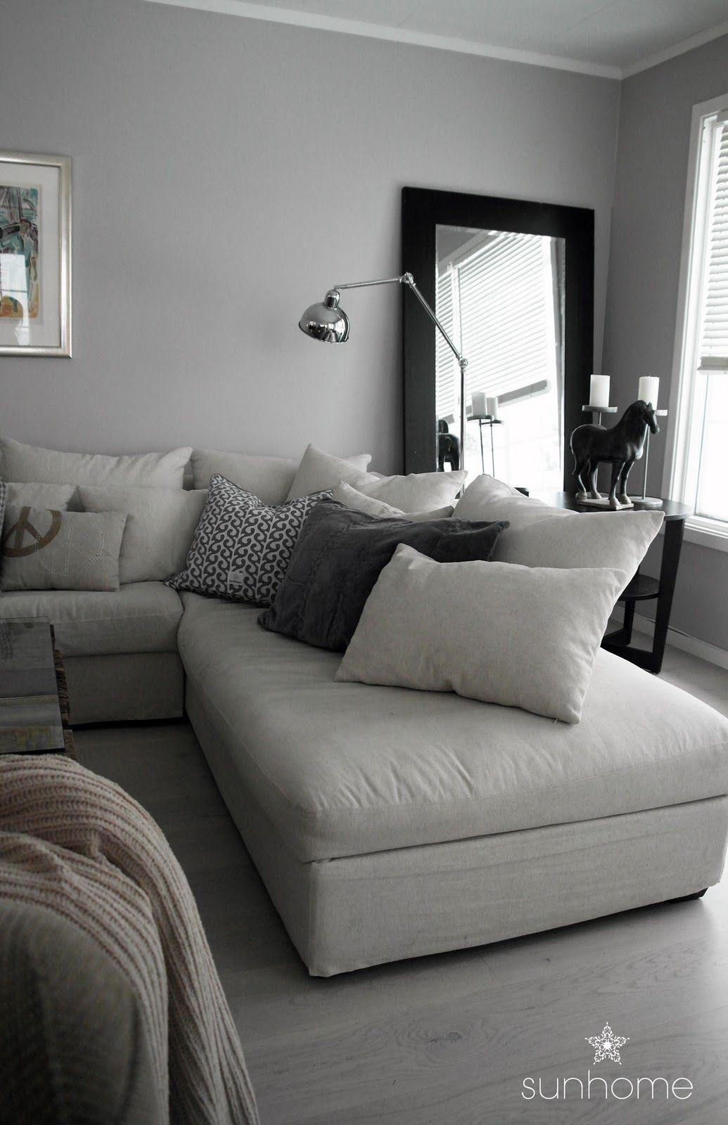 Herlig Stue Sofakrok Med Puter Som St 229 R P 229 248 Nskelista