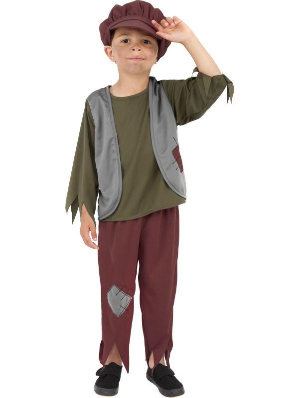 Pirate Boy Childrens Fancy Dress Costume 7-9 Years Book Week