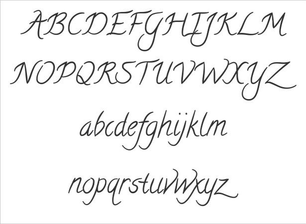 Cool Handwriting Font