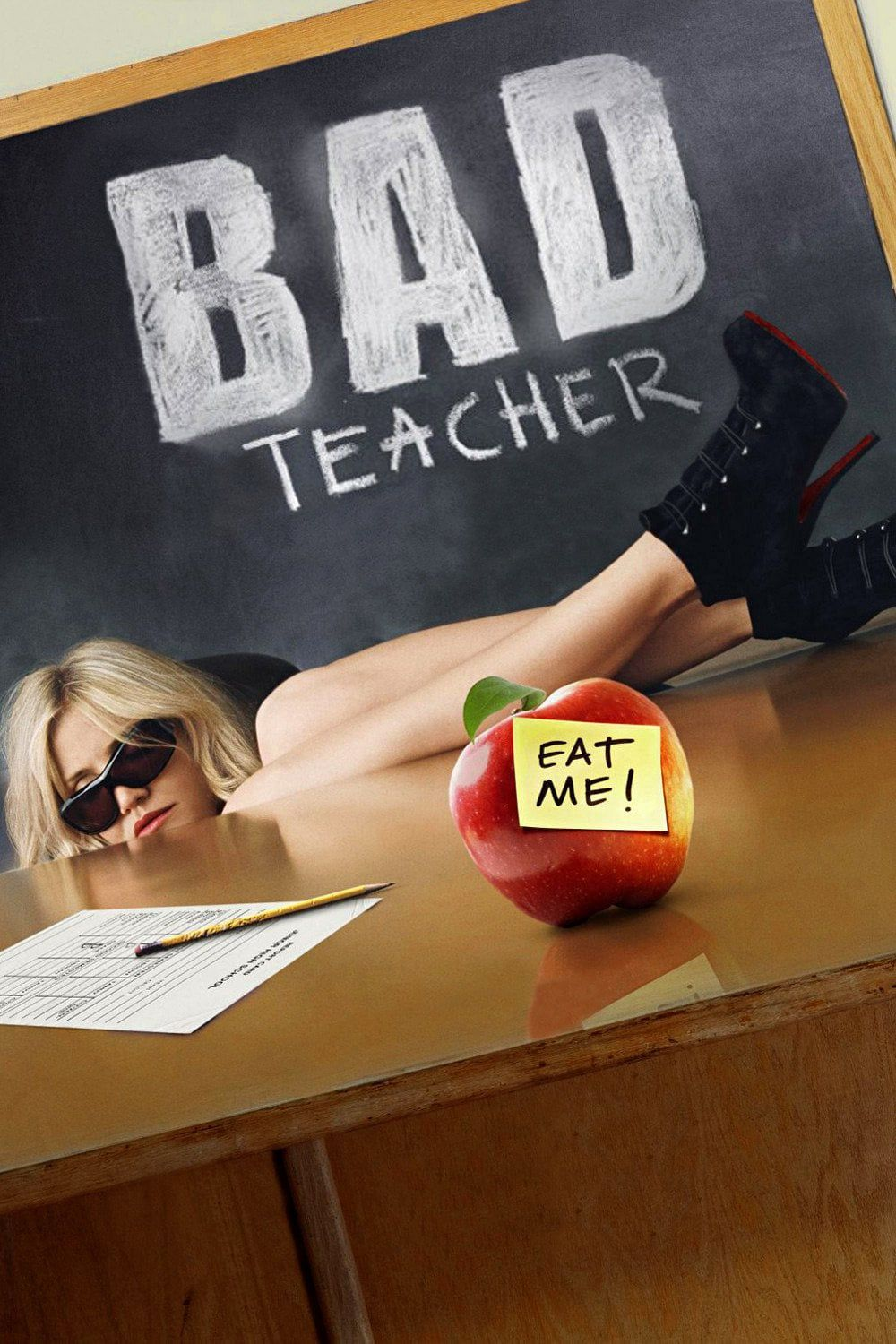 Image result for bad teacher poster