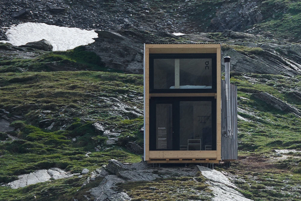 Why One Running Shoe Brand Built A Mountain Hut In The Alps