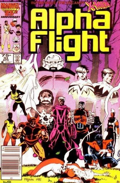 Alpha Flight #33 - A Friend In Need (Issue)