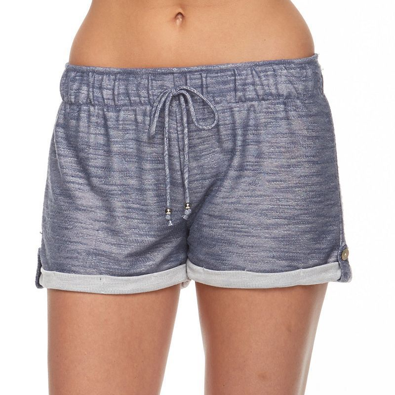 Women's Portocruz French Terry Cover-Up Shorts, Blue Other