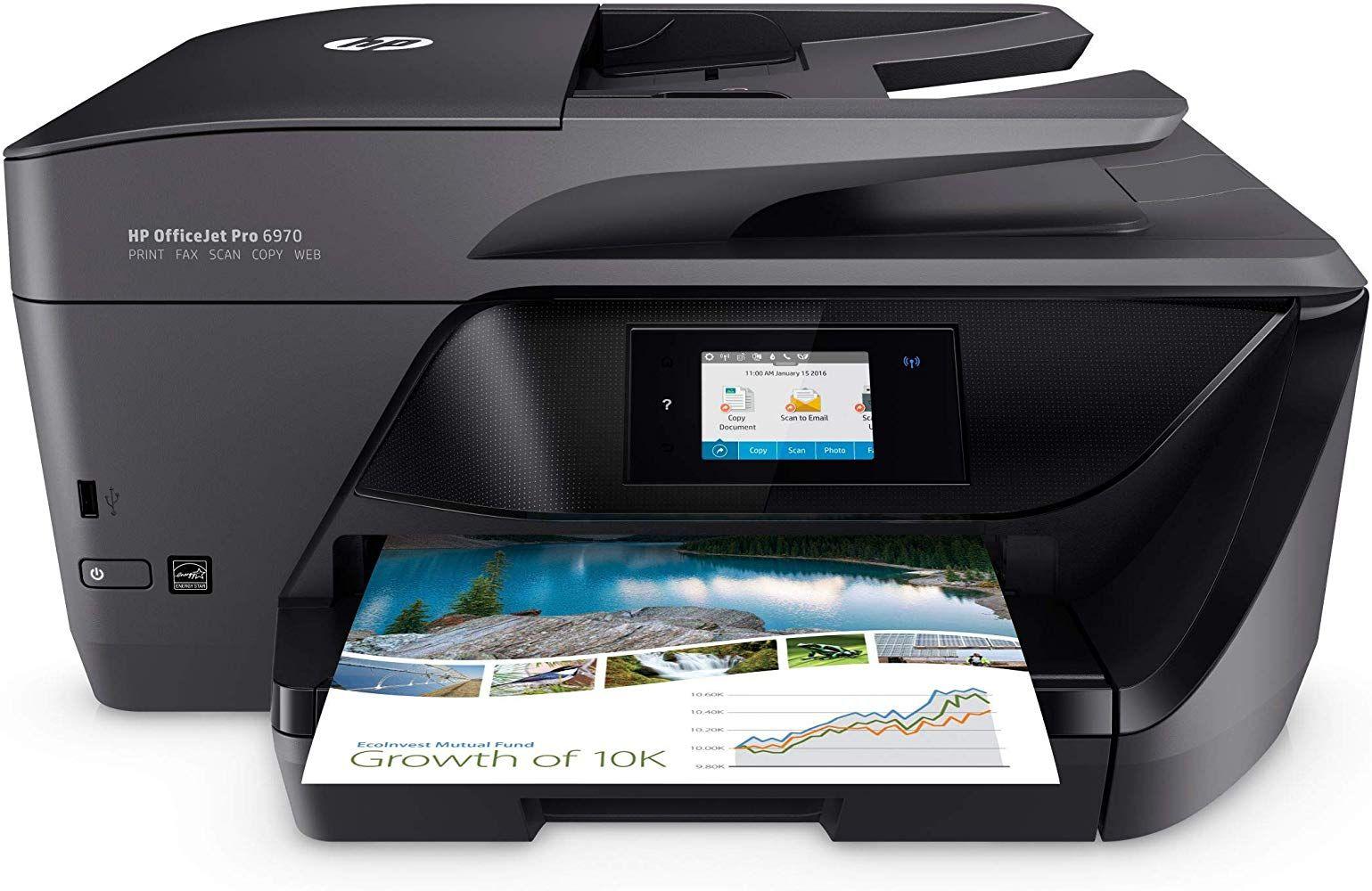 Hp Officejet Pro 6970 Multifunktionsdrucker Instant Ink Drucker