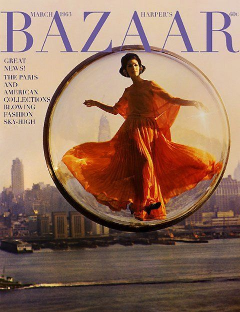 Images byMelvin Sokolsky in Paris for Harper's Bazaar, 1963