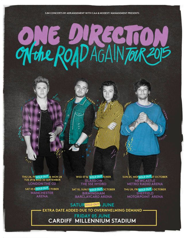 Poster A3 One Direction Harry Styles Liam Payne Niall Horan Louis Tomli Zayn 03