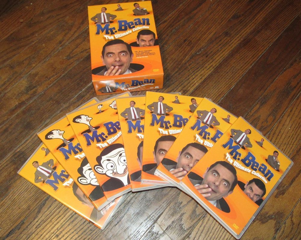 Mr Bean The Ultimate Collection 7 Dvd Box Set Comedy