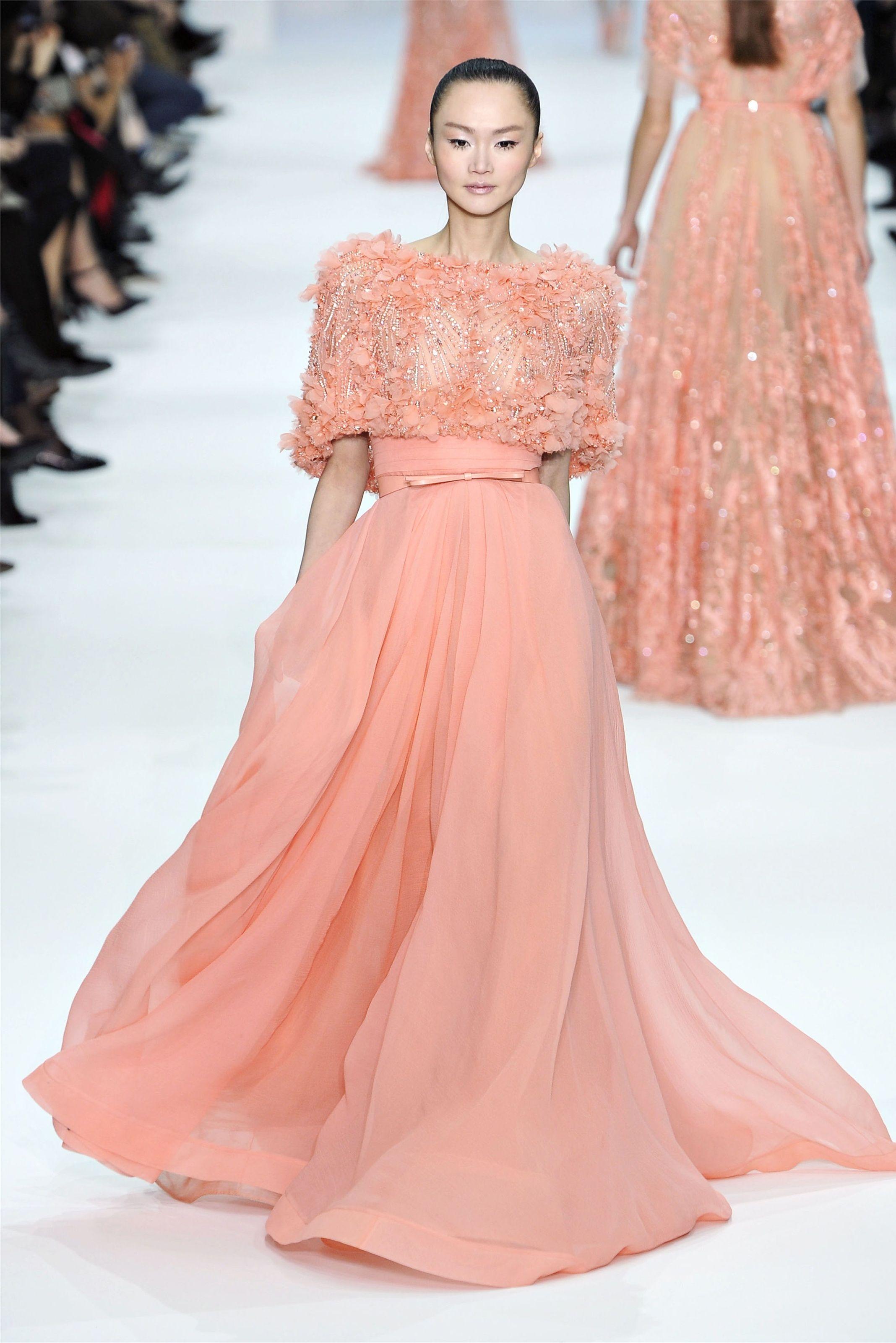 Elie Saab Haute Couture Spring Summer 2012. | V • E l i e S a a b by ...
