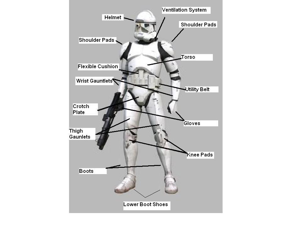 stormtrooper armor diagram - Google Search