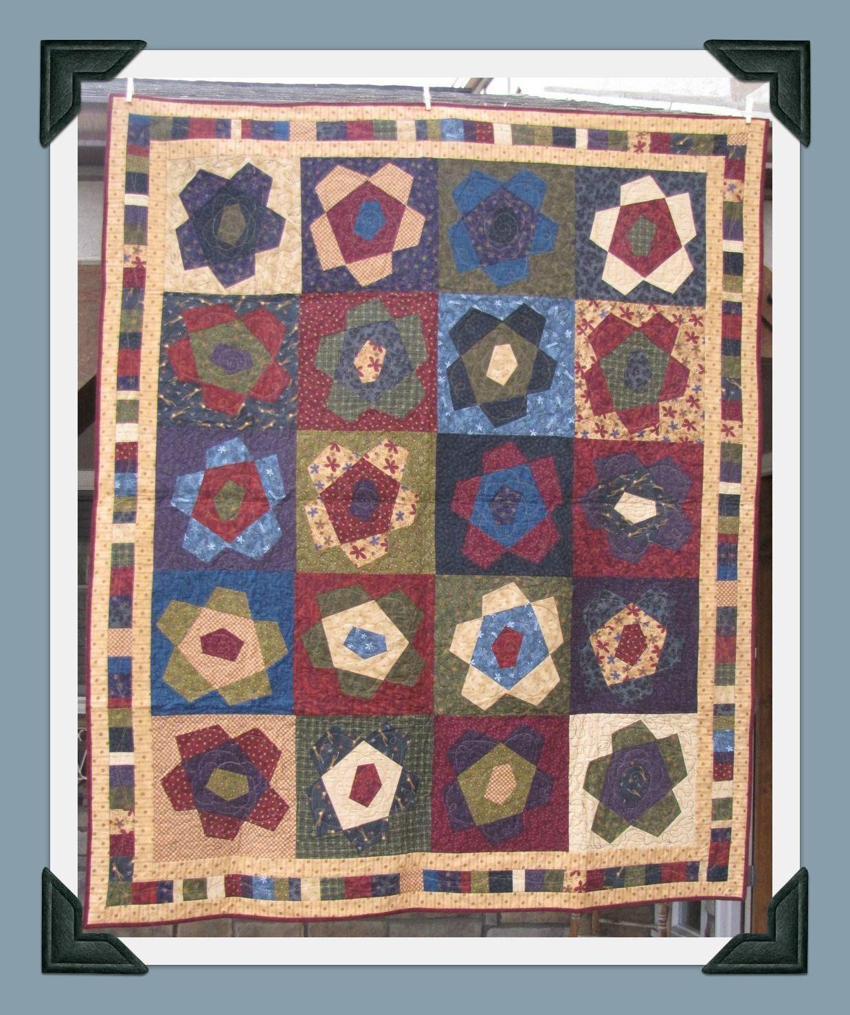 Pattern: Folk Art Flowers by Buggy Barn. I love flowers so Iove ... : free buggy barn quilt patterns - Adamdwight.com