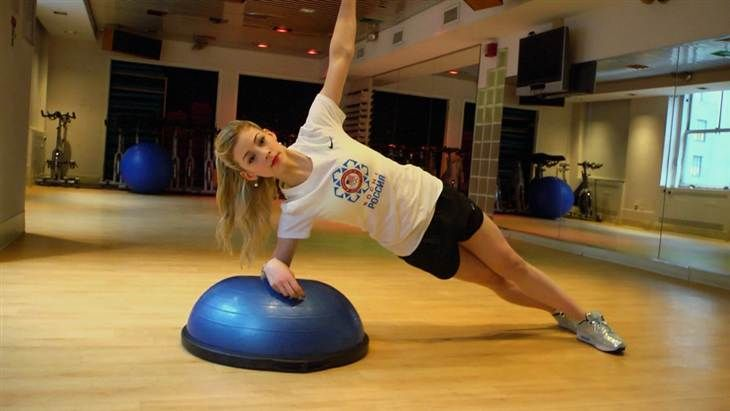 Gracie Gold's 3 workout moves for core strength | For the ...
