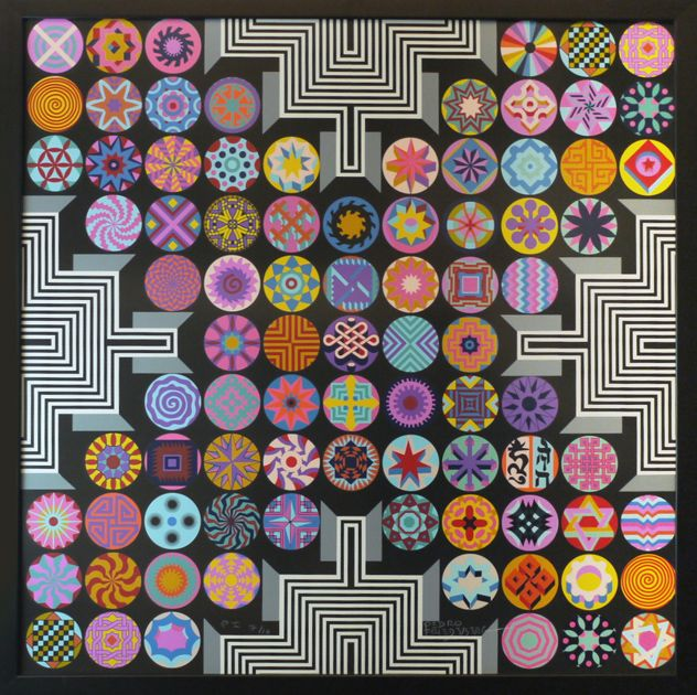 Pedro Friedeberg Architect of patterns — DOP