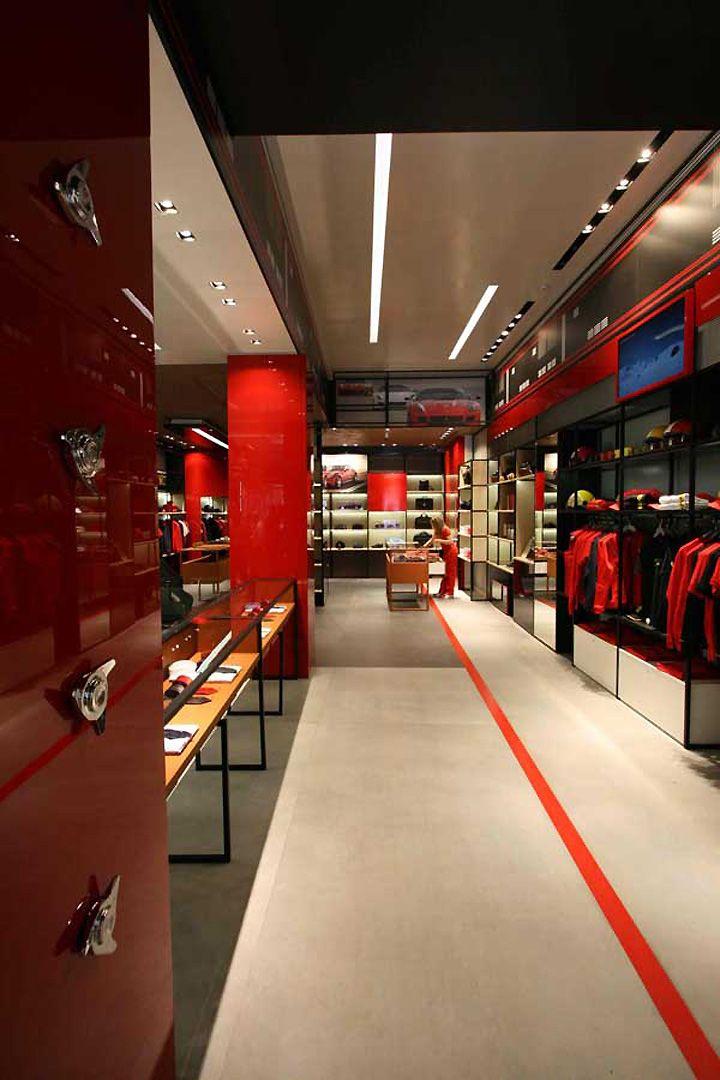 Ferrari Store By Iosa Ghini Associates Madrid 03 Great Ideas