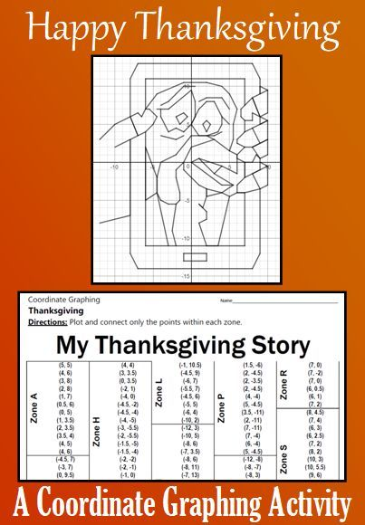 Thanksgiving My Thanksgiving Story A Coordinate