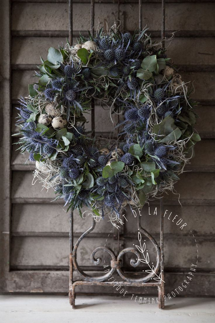 Photo of www.artdelafleur7.nl Easter wreath # artdelafleur7 #osterkranz #steckeallerheilig …