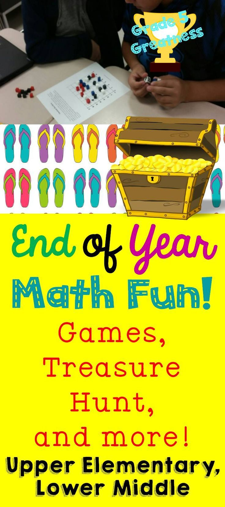 End of Year Fifth Grade Math Review Bundle | Math, Students and ...