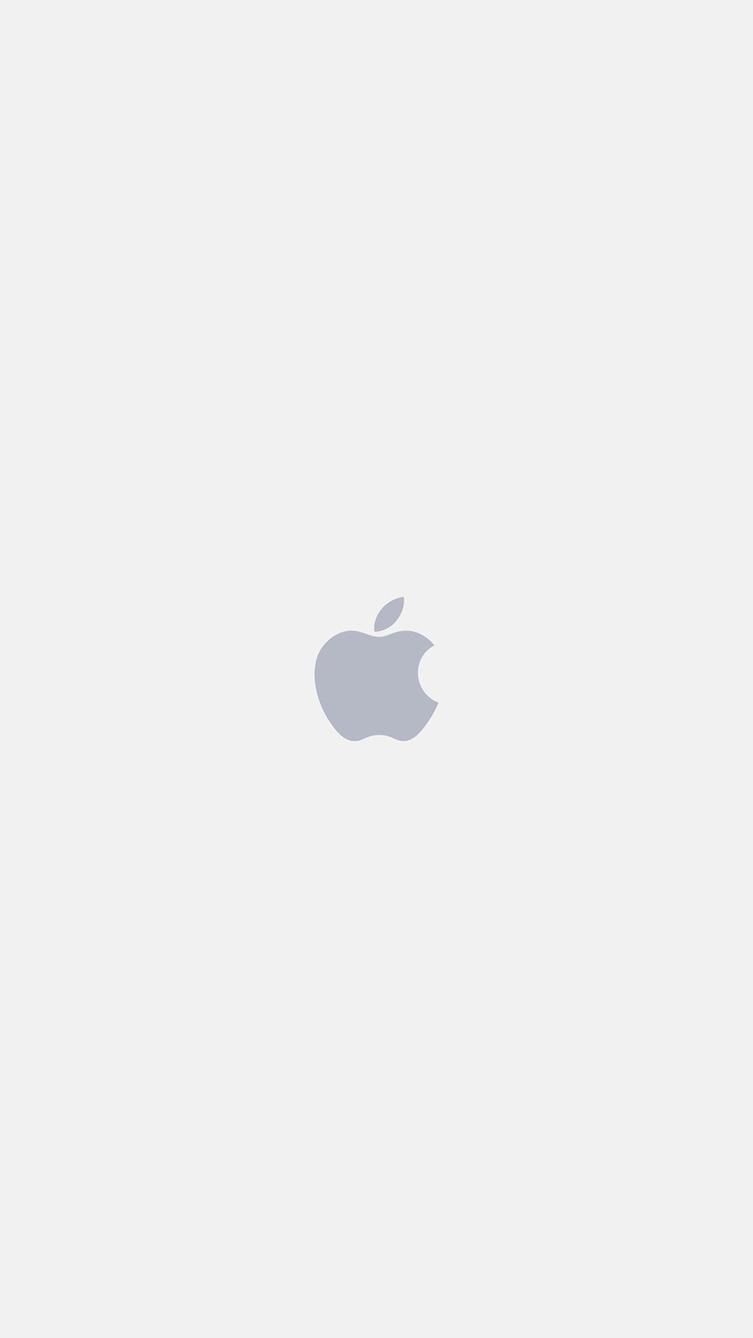 Apple Logo White Art Illustration Iphone  Wallpaper