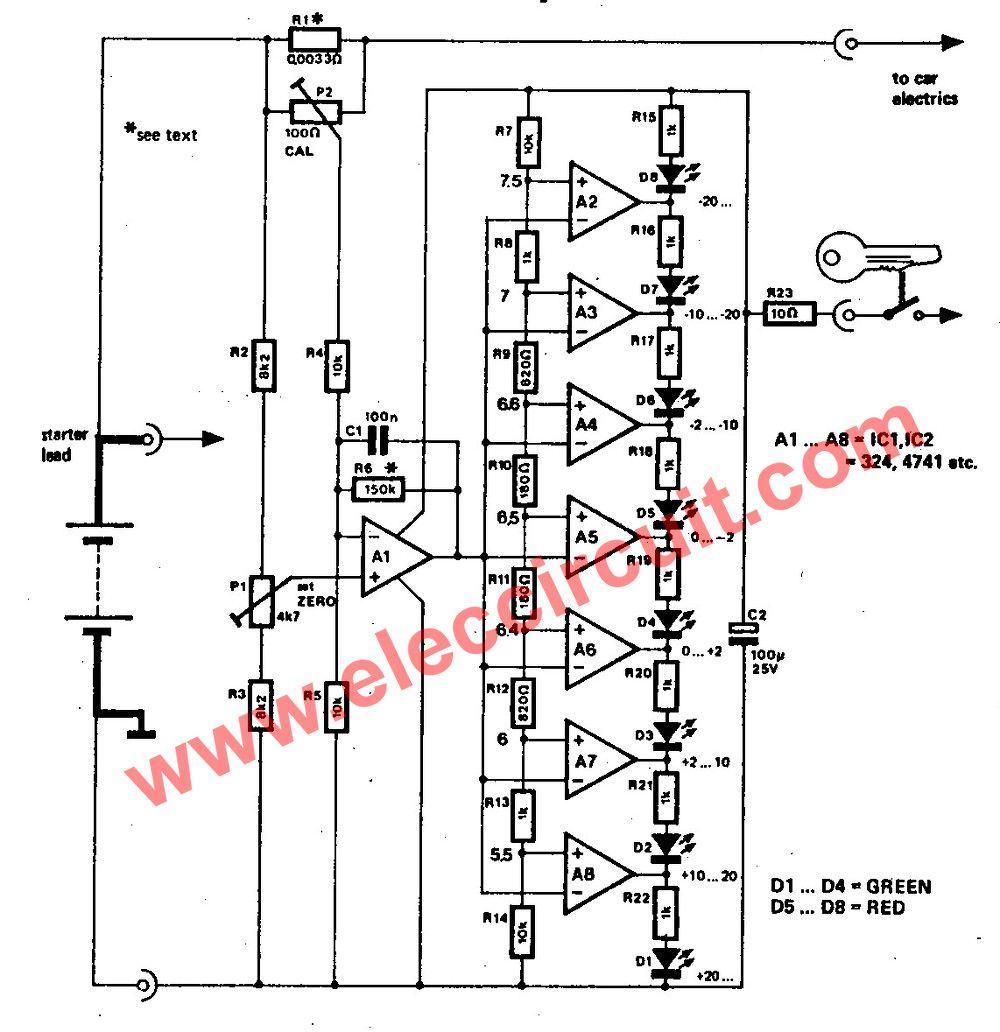 2 Headlight Warning buzzer reminder circuit