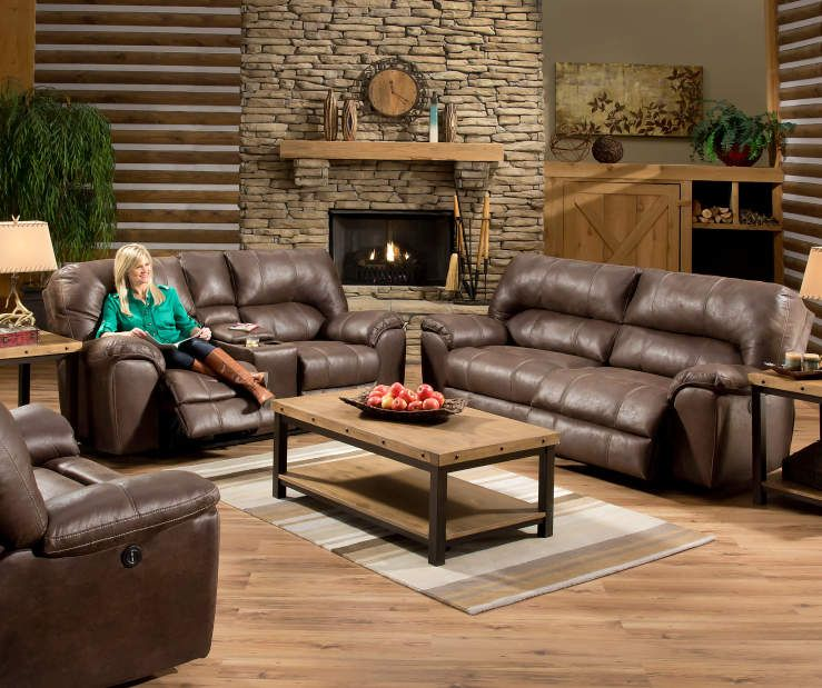 Simmons Columbia Stone Reclining Sofa At Big Lots Couch