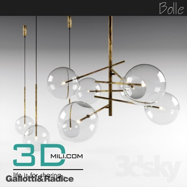 Ceiling light Archives - Page 3 of 10 - 3D Mili - Download 3D Model ...