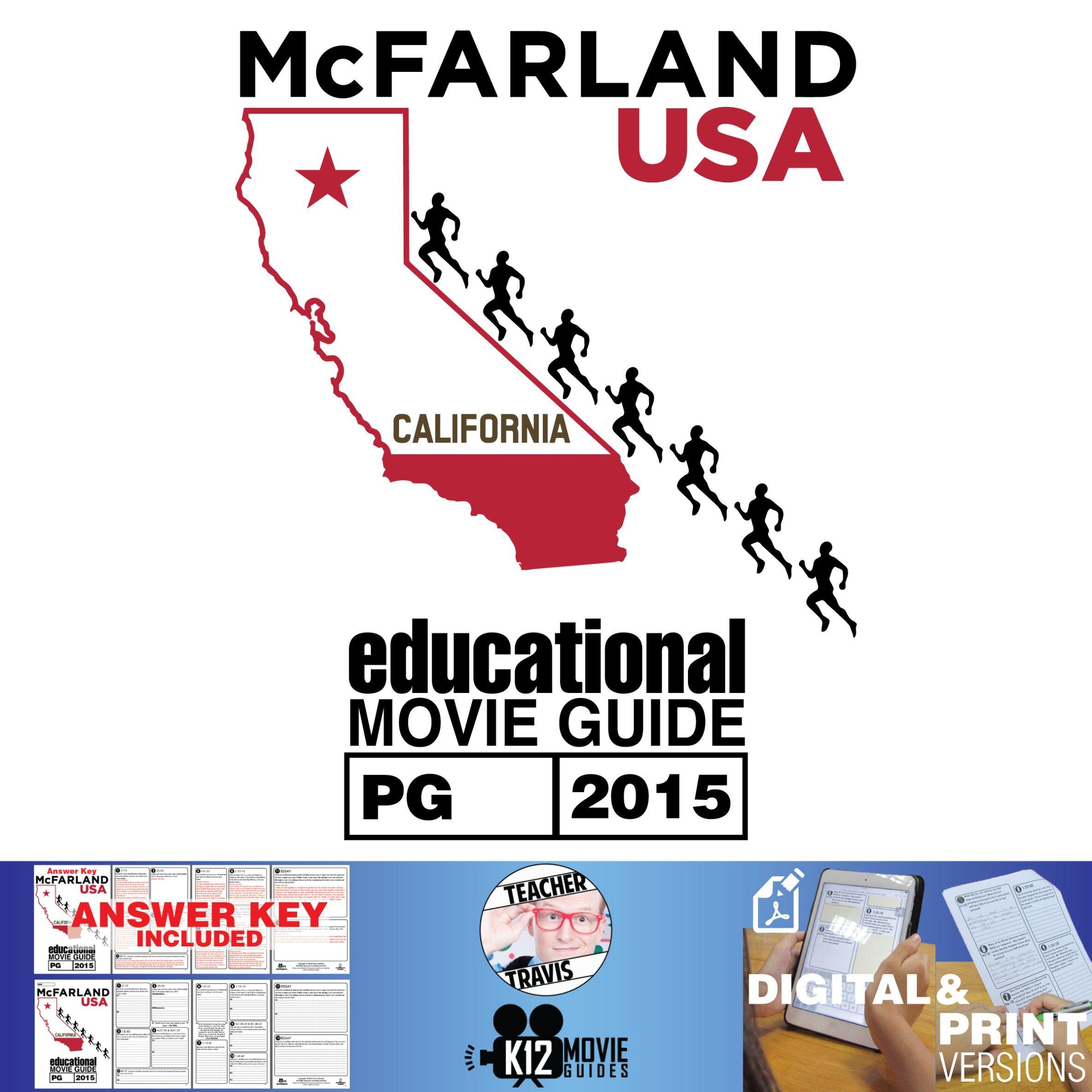 Mcfarland Usa Movie Guide