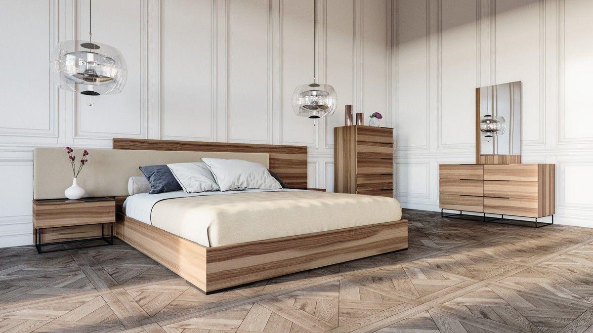 Stylish Design Furniture Nova Domus Matteo Italian Modern Walnut