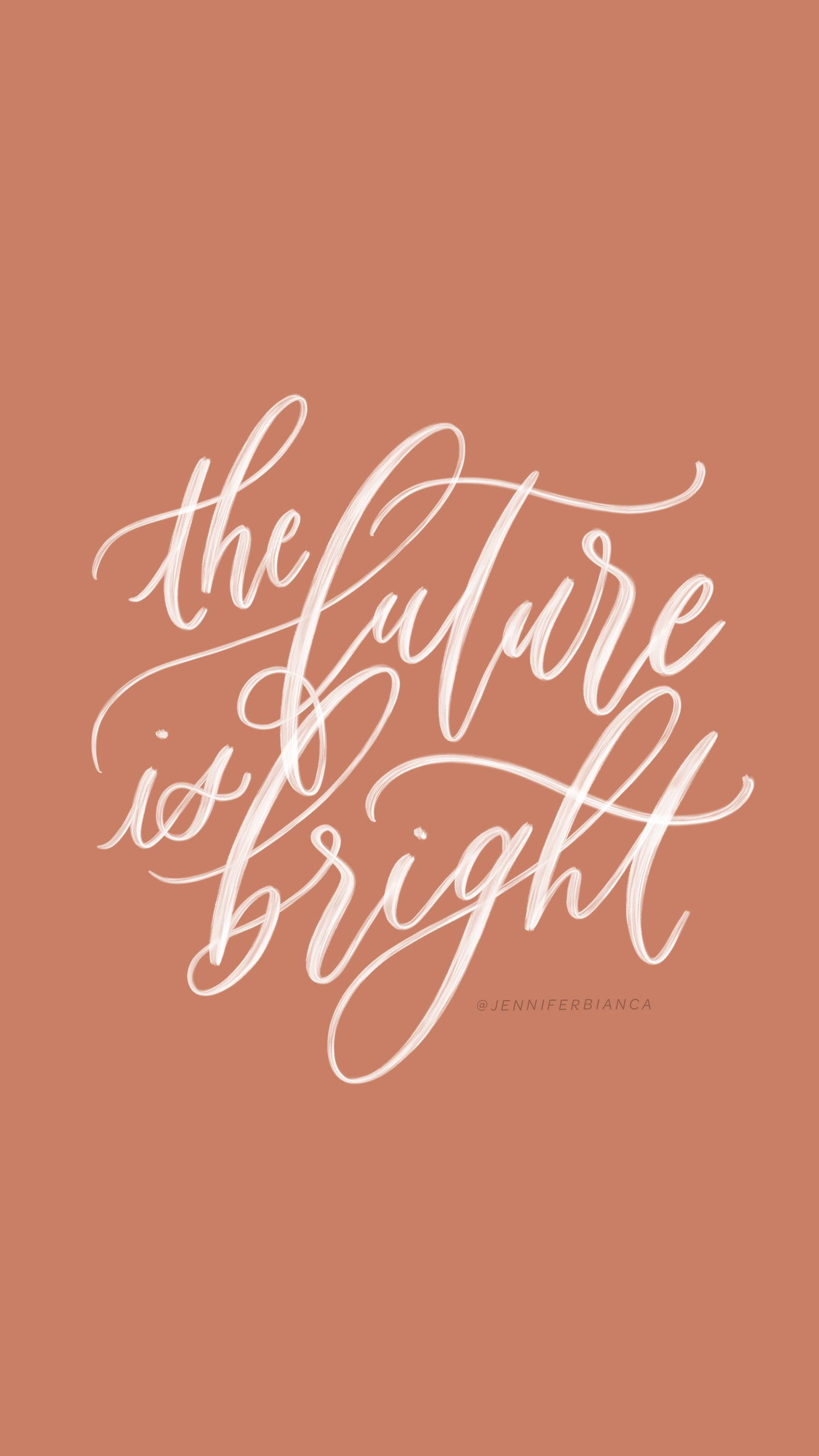 """The future is bright."" / / prints"