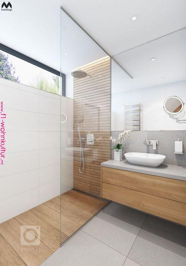 Herrliche Badezimmerdekorationsideen, um Ihr Badezimmer im Raum breiter aussehen zu lassen
