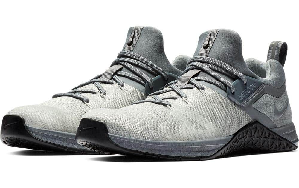 74d4747e895a Nike Metcon Flyknit 3 Mens - Cool Gray   Black colorway.