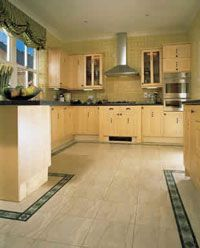 kitchen floor designs