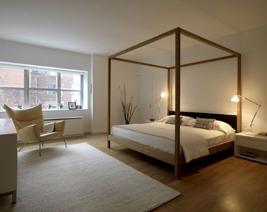 Contemporary Poster Bed good questions: modern four poster beds online? | modern, bedrooms