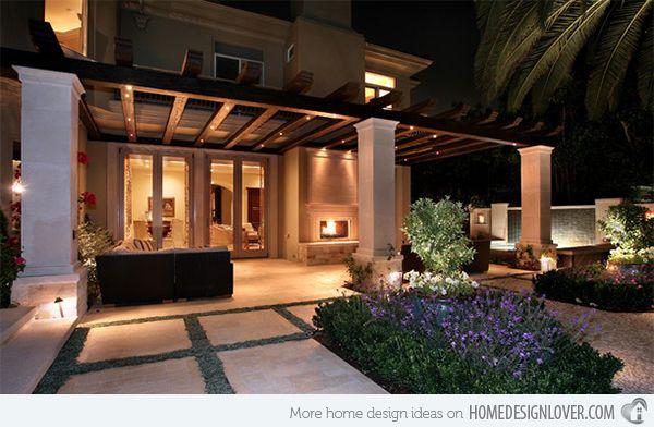 15 Dramatic Landscape Lighting Ideas Outdoor Spaces Pinterest