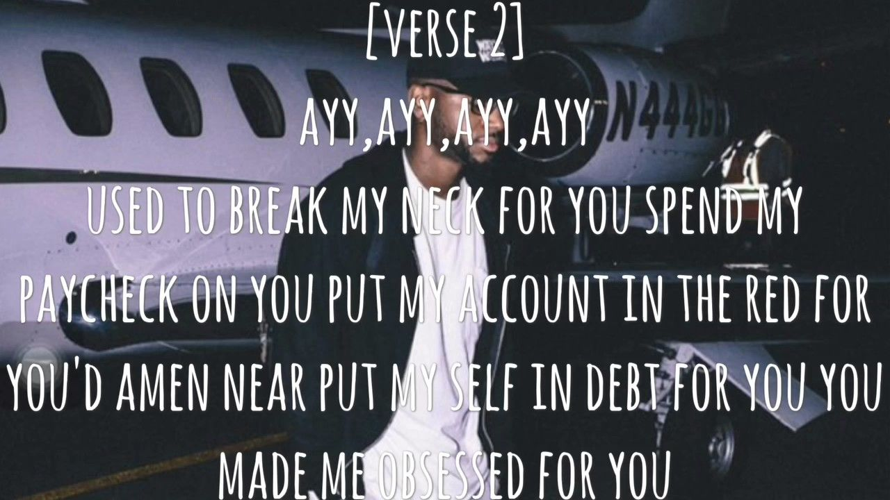 Bryson Tiller Run Me Dry Lyric Video True To Self Album 2017 Youtube Bryson Tiller Lyrics Bryson Tiller Lyrics