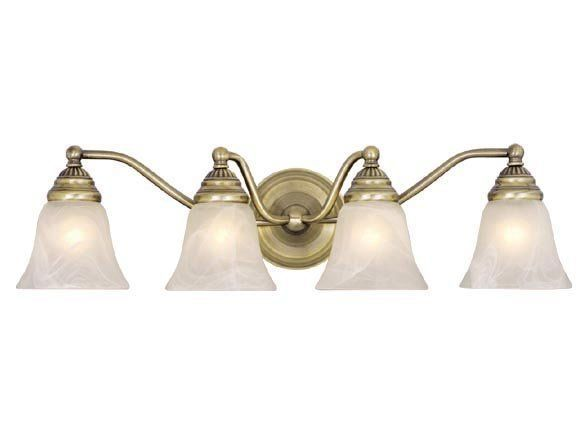 Exceptionnel View The Vaxcel Lighting VL35124 Standford 4 Light Bathroom Vanity Light    25.38 Inches Wide At