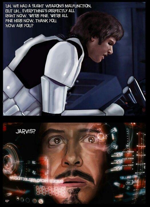 Jarvis Star Wars Memes Disney Marvel Star Wars