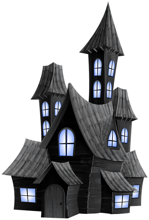 7 Natural Ways To Keep Your House Spider Free Scary Houses Halloween Graphics Haunted House Drawing