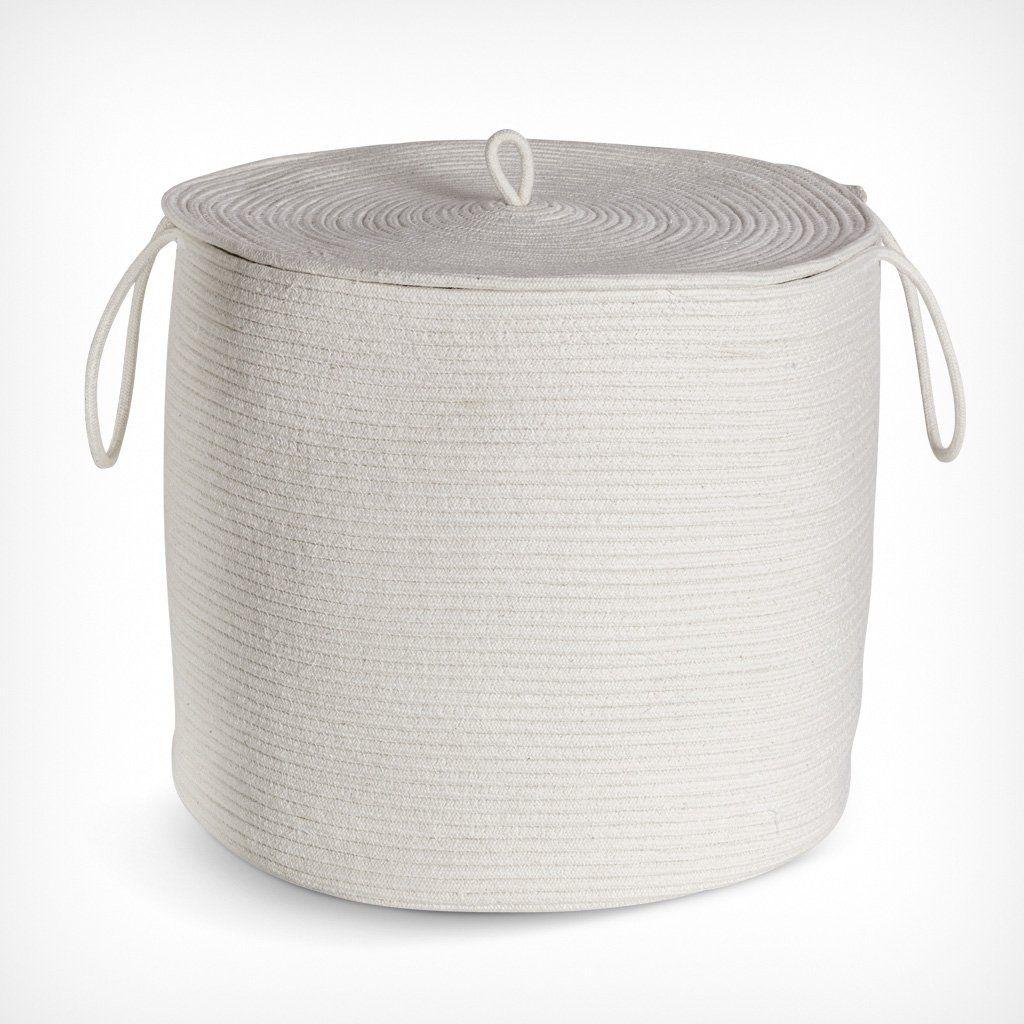 Korb Baumwolle Seil Aufbewahrungskorb Korb Mit Deckel Korb Deckel Aufbewahrungskorb Mit Deckel