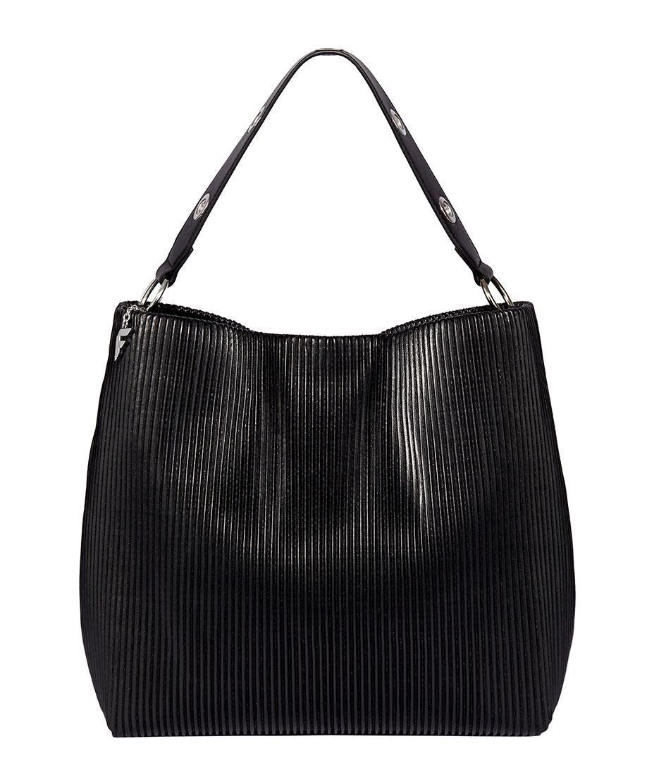 Women's Black Stretch Cinched Bag | shoulder bags in 2019