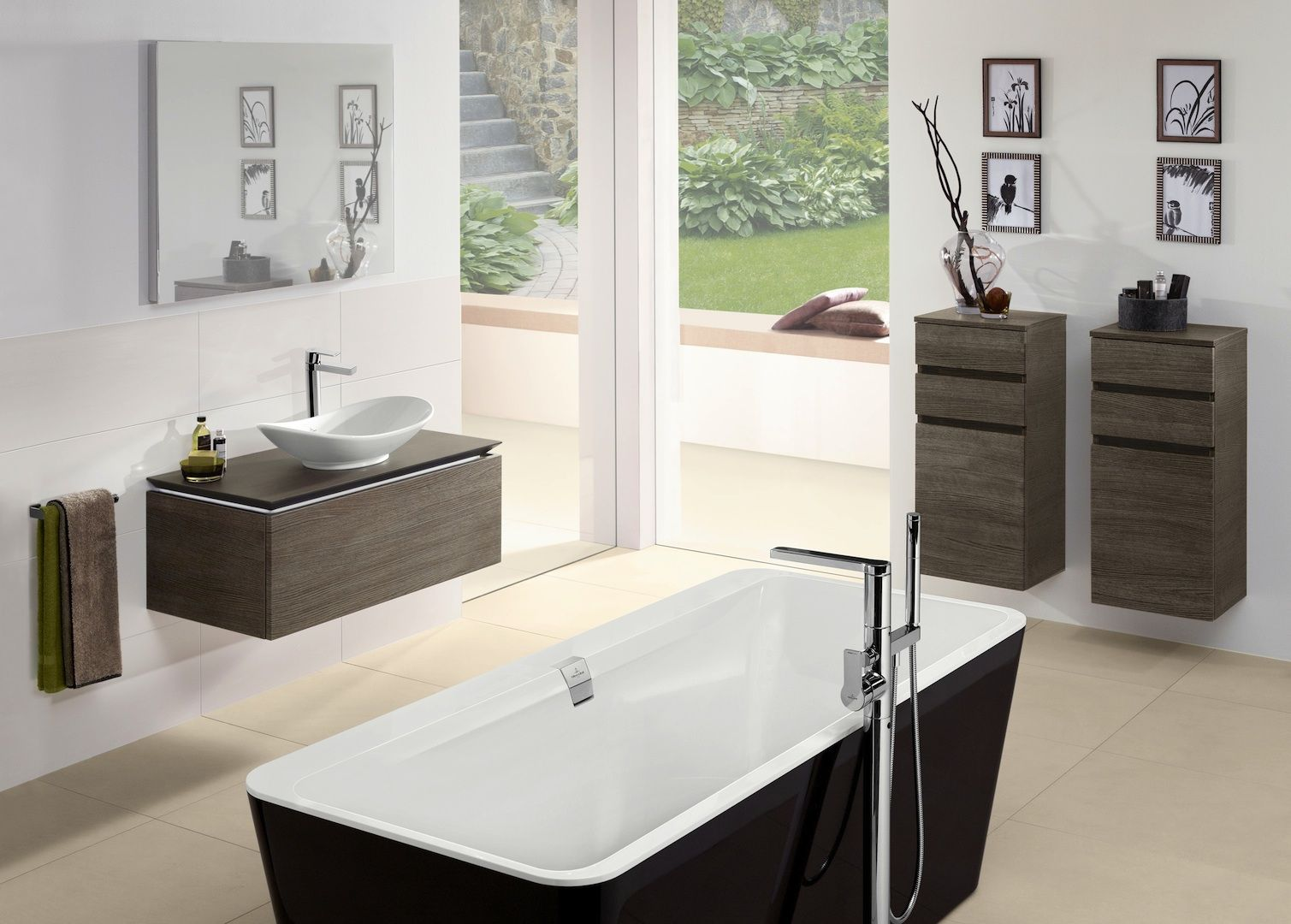 Badkamermeubels en bad Legato van Villeroy & Boch | Badkamermeubels ...