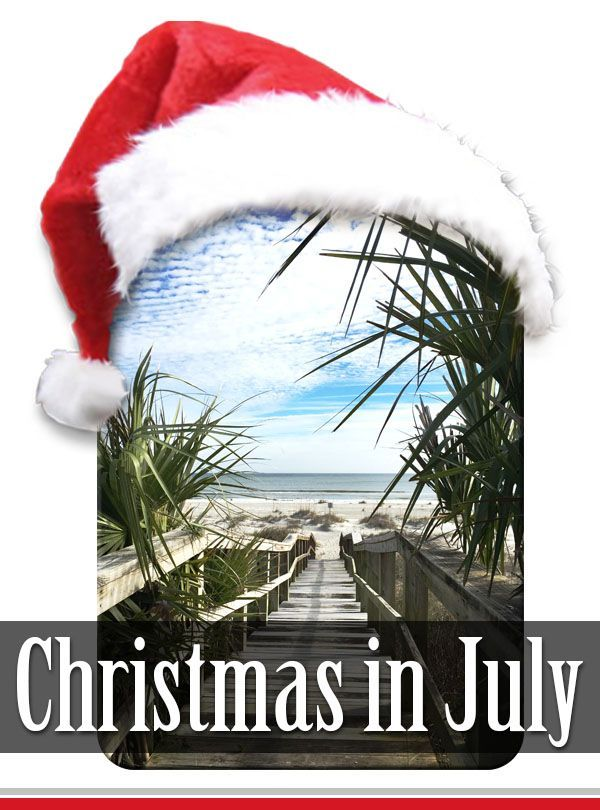 christmas in july party ideas and planning